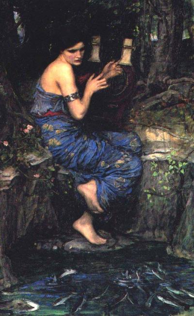 "John William Waterhouse ""The Charmer"""