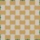 Modernizm Bianco Mozaika Prasowana K.3,6X4,4 Mix C