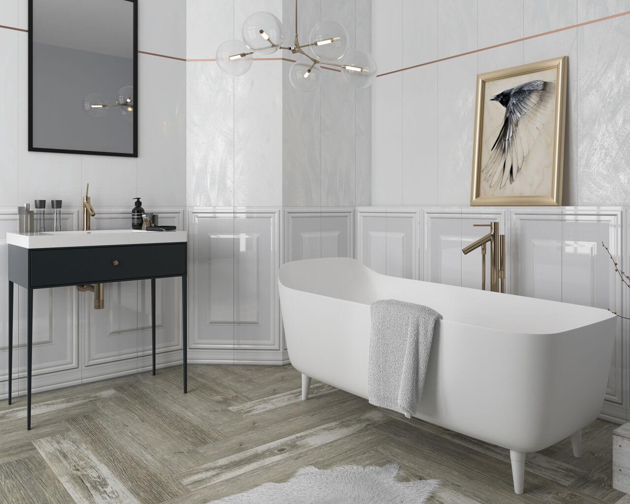 фото больших ванных комнат в доме