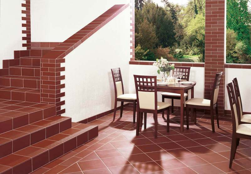 Arrangement-classic-terrace-and-stairs-natural-rosa-ceramic-Paradyz
