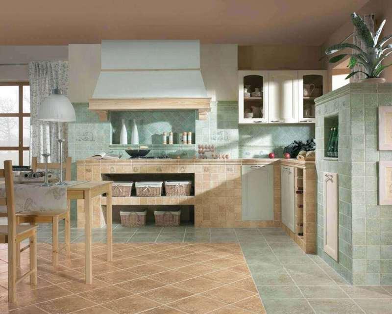 aranzacja-rustykalnej-kuchni-tretto-tryton-ceramika-paradyz