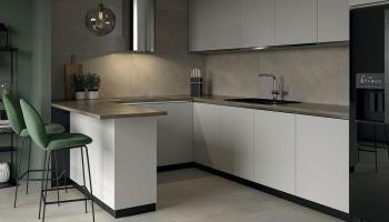 aranzacja-eleganckiej-nowoczesnej-kuchni-smoothstone-ceramika-paradyz