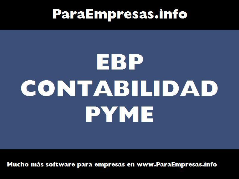 ebp contabilidad pyme