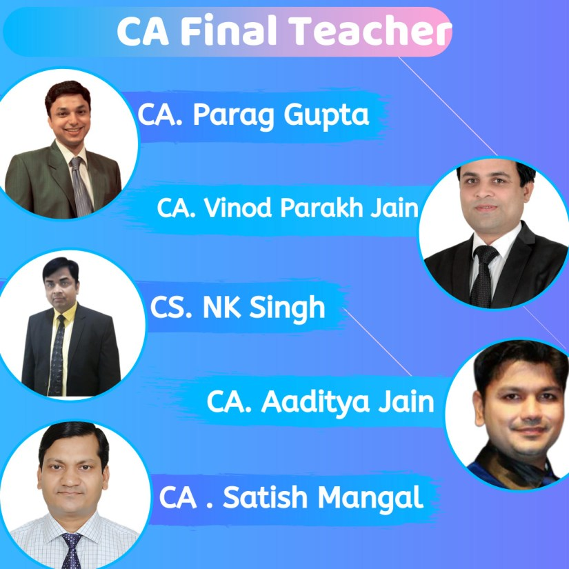 CA Final teachers