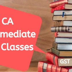 CA Intemediate GST Classes