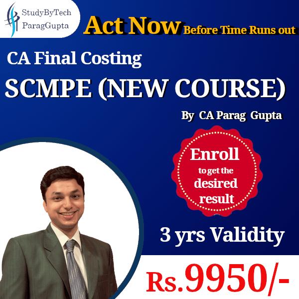 CA Final SCMPE Pendrive Classes