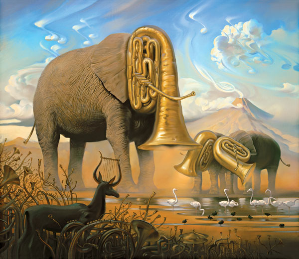African Sonata by Vladimir Kush