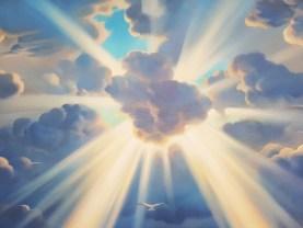VLADIMIR KUSH - SYMPHONY OF THE SUN - ORIGINAL PAINTING ON CANVAS - 35 x 44  | eBay
