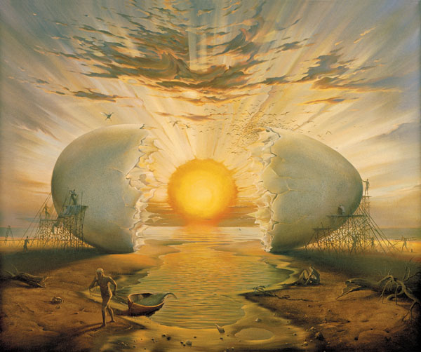 SUNRISE BY THE OCEAN<br />