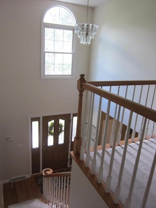 Updating A 90 S Oak Staircase | Oak Steps For Stairs | Finished | Solid Wood | Diy | Laminate | Painted Interior Stair