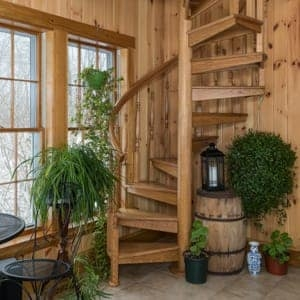 Compact Stairs For Small Spaces Paragon Stairs | Space Saving Staircases For Small Homes | Design | Spiral Staircases | Staircase Design | Attic Ladder | Staircase Ideas