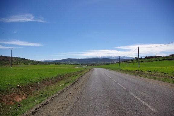 Panorama gór Atlas