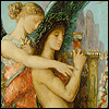 Gustave Moreau, Hesiod and the Muse (1891) - Musée d'Orsay, Paris