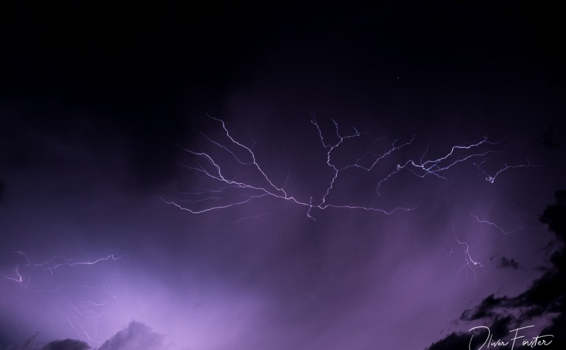 Gewitter und Strom