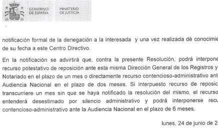Nacionalidad Española Denegada. Cómo recurrir si me han denegado la nacionalidad Española. Recurso de Reposición y Recurso Contencioso-administrativo.