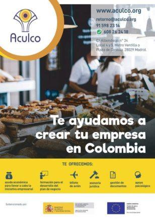 Aculco ayuda en España al retorno voluntario a latinoamerica