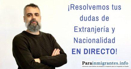 Consultas en directo con Vicente Marín
