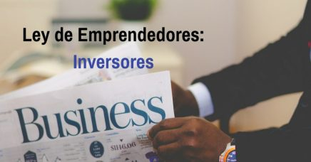 Ley de emprendedores: Inversores