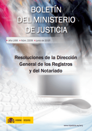 Resoluciones de la DGRN. Junio y Julio de 2017