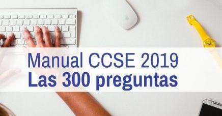 300 preguntas manual CCSE 2019