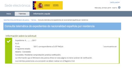 Resolución Nacionalidad Paola