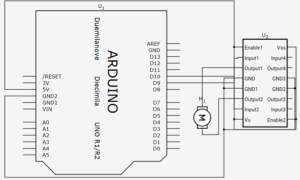 Diagrama do circuito