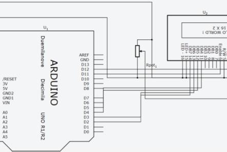 Diagrama elétrico do circuito utilizado