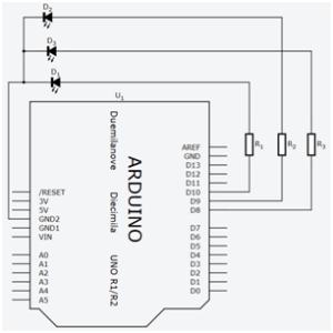 Esquema do circuito utilizado no post
