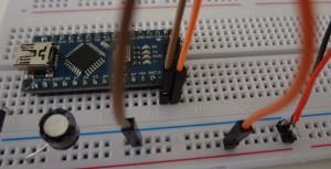 Colocando o Arduino na protoboard