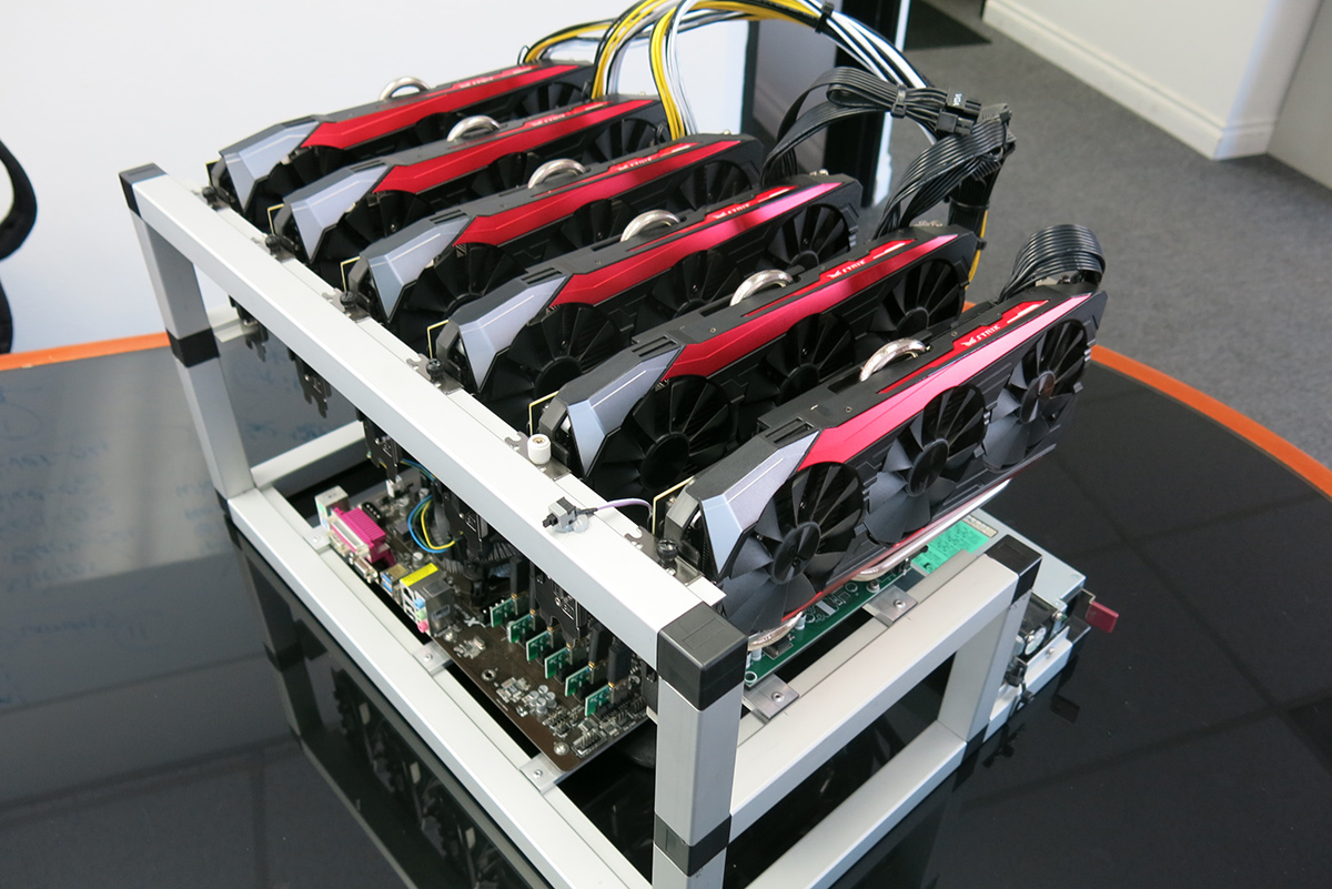 Image result for mining rig