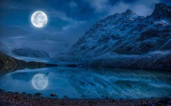 moon-gazing