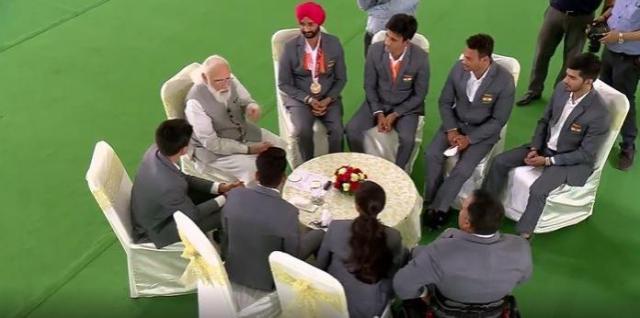 India paralympic team
