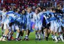 Selección Argentina de Fútbol Femenino (festejo 2018)