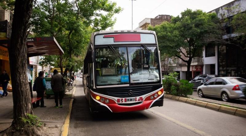 Colectivo de la línea 1 de Paraná