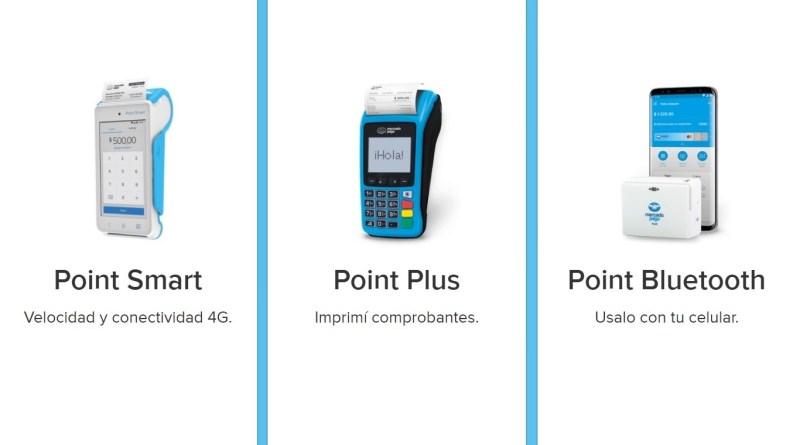 MercadoPago Point Bluetooth vs Plus vs Smart