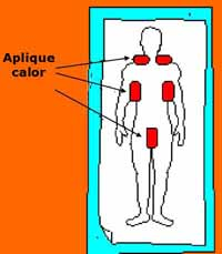 hipotermia primeros auxilios