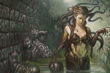Les gorgones dans la mythologie grecque