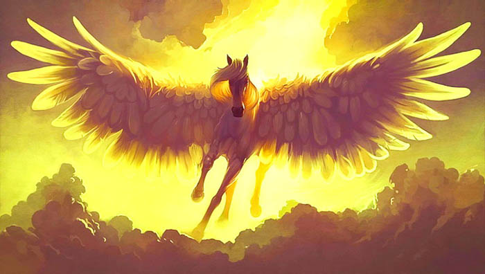 Pégase, le cheval ailé