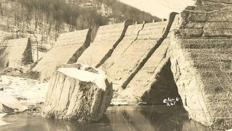 Austin Dam Flood
