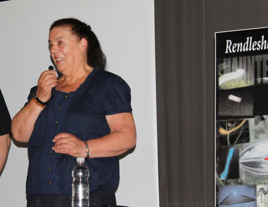 Brenda Butler UFO conference 2015 Rendlesham Forest Incident