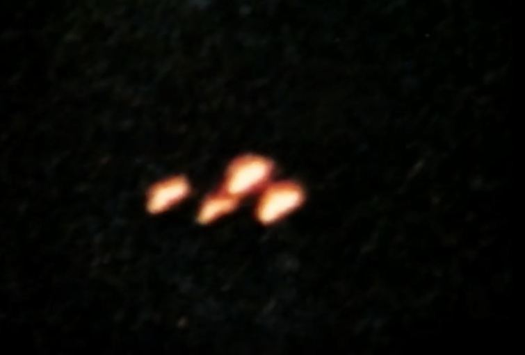 Danny Gordon's Wytheville UFo photo