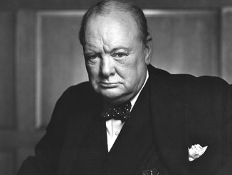 The Roaring Lion Winston Churchill
