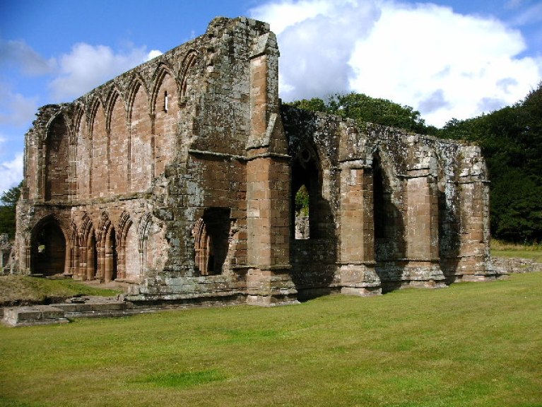 Furness Abbey ruins.