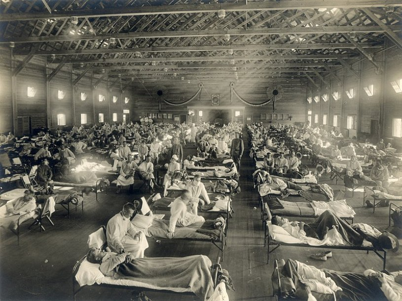 Spanish influenza Camp Funston