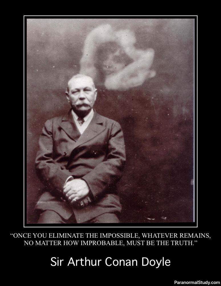 Sir Arthur Conan Doyle and Spirit Photography