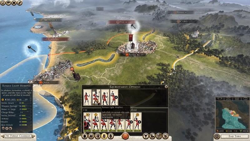 Gameplay - Mapa de guerra