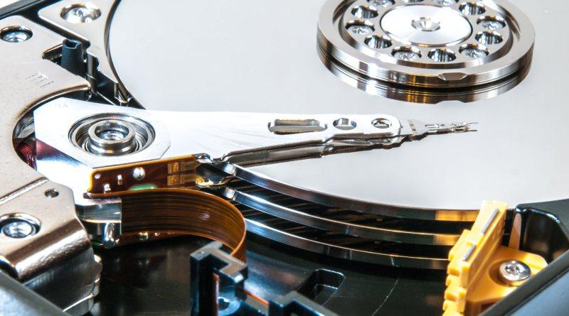 Discos duros de PC, también llamados discos rígidos o HDDs