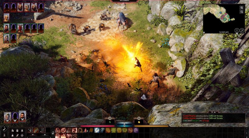 Gameplay de Baldur's Gate 3