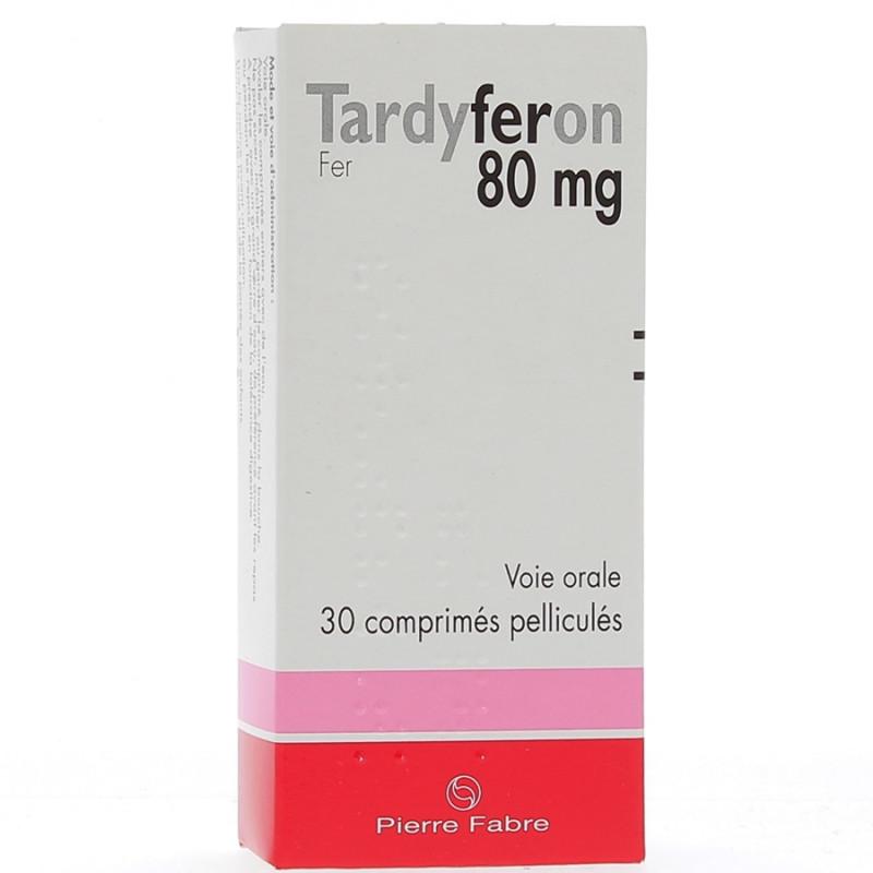 TARDYFERON 80MG PIERRE FABRE