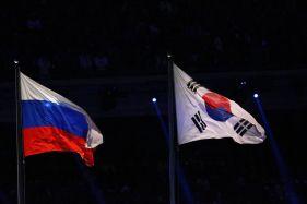 ロシアと大韓民国の国旗
